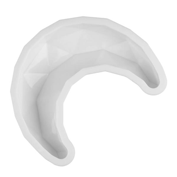 Moule silicone en forme de croissant de lune 4