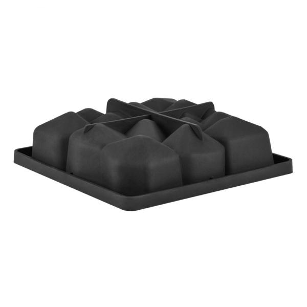 Moule carré en forme de roche, pierre (produit en silicone) 5
