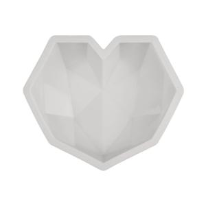 Moule à gâteau en forme de cœur (silicone)