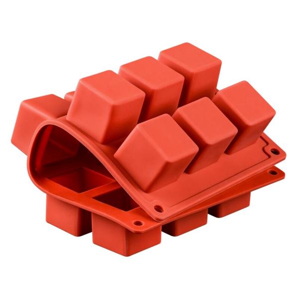 Moule gâteau Rubik's Cube en silicone 2