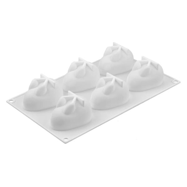 Moule silicone lapins 3D