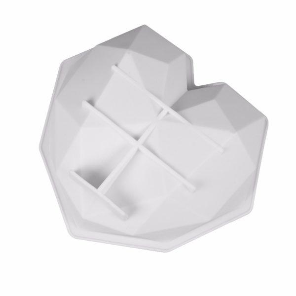 Moule à gâteau en forme de cœur (silicone) 2