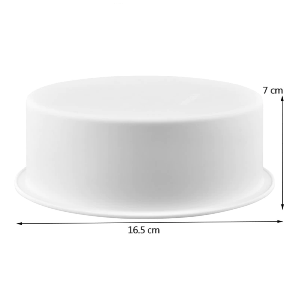 Moule rond classique en silicone pour gâteaux à étages 1