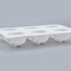 Moule silicone lapins 3D 1