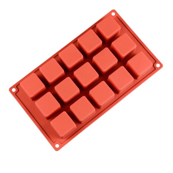 Moule gâteau Rubik's Cube en silicone