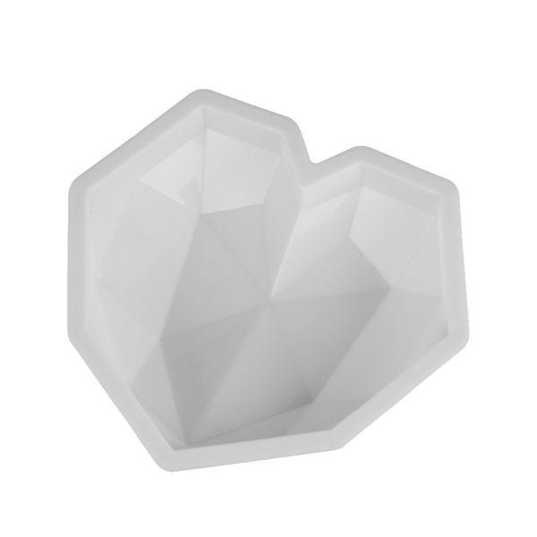 Moule à gâteau en forme de cœur (silicone) 1