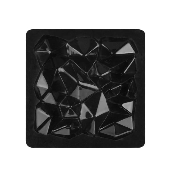Moule carré en forme de roche, pierre (produit en silicone) 3